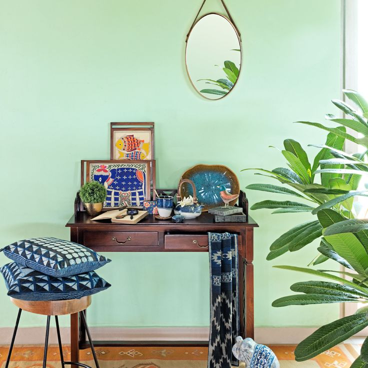 #monsoon #accessories #home #lifestyle #furniture #giftware #trays #cushioncovers #mirror #stool #Brahmaputra #Fabindia #blue #green