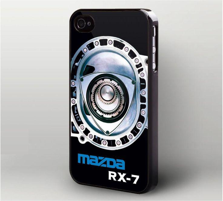 Mazda RX 7 Rotary Mechine iPhone 4 Case,