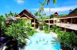 Phi Phi Island Banyan Villa resort hotel Phi Phi Thailand hotels resorts holiday bargains http://www.r24.org/beachsiam.com/krabi/ppbanyan/