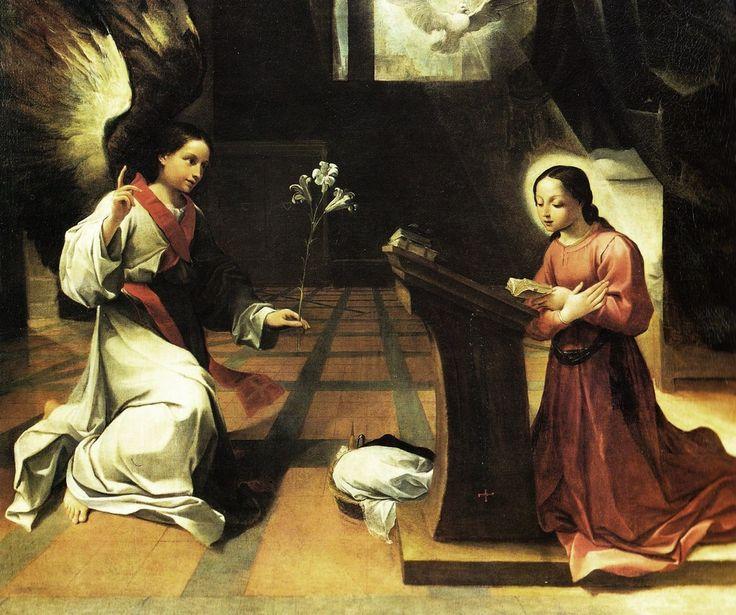 Ludovico Carracci (1555 – 1619) Annunciazione, c. 1585.