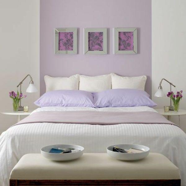11 best Wandfarbe images on Pinterest Bathroom ideas, Bedroom - schlafzimmer flieder