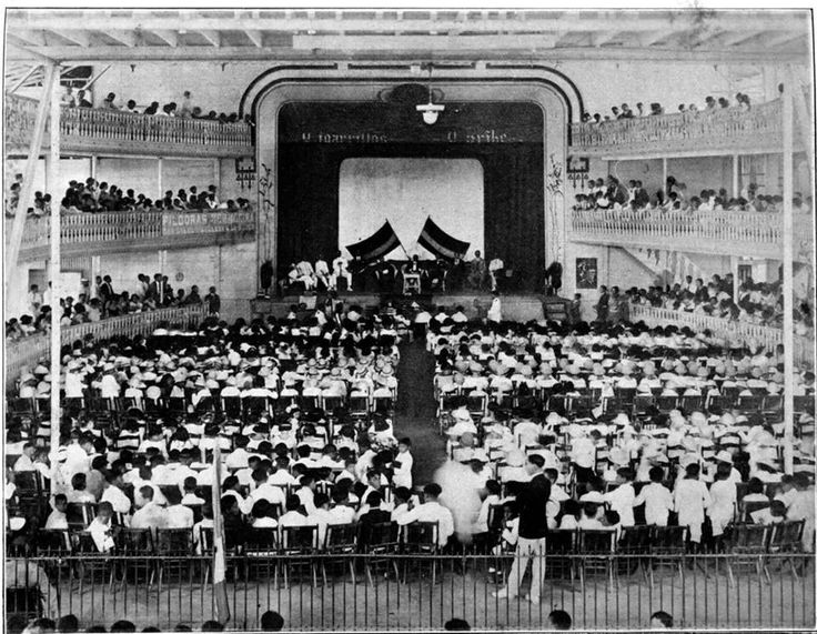 Teatro Colombia fotografia de finales de los 40