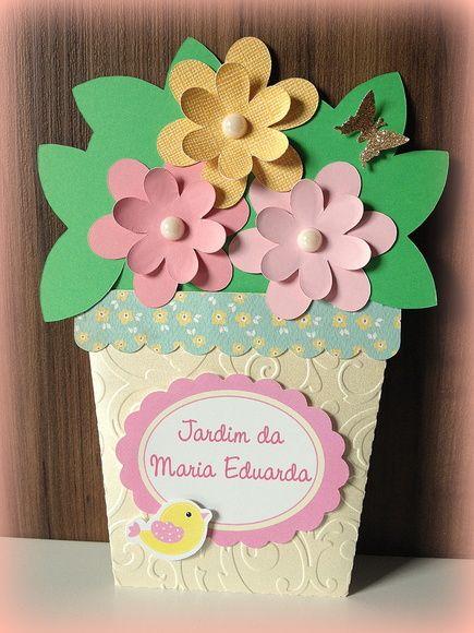 Convite Jardim de Flores