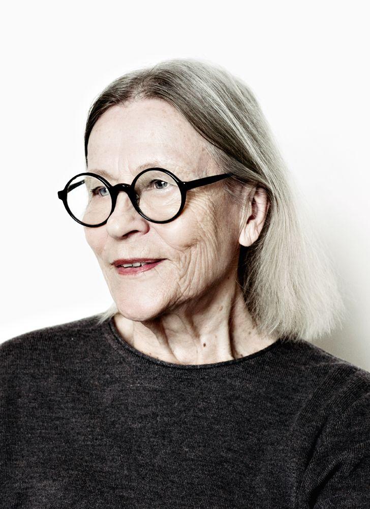 Marimekko designer Vuokko Nurmesniemi. Photo: Juliana Harkki.
