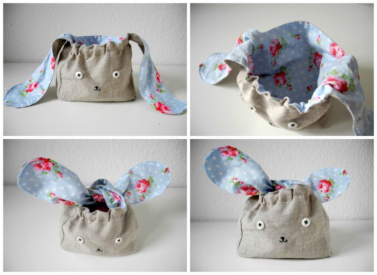 melimelo: Bunny Bag - So so cute! Tutorial in German, but there is a translator in the sidebar!