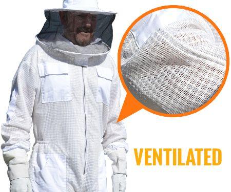 Ventilated beekeeping suit - bee suits