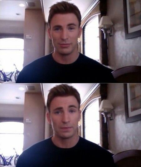 New blog video with Chris Evans :) He is amazing, intelligent and humble ♡ #chrisevans