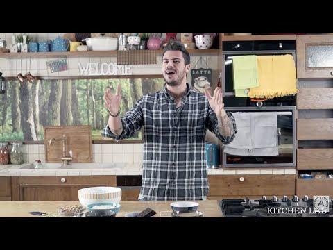 Tahini Honey Chocolate Nut Cereal Bars | Akis Petretzikis