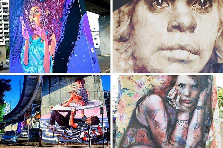 Pillars Project, West End Street Art, Brisbane
