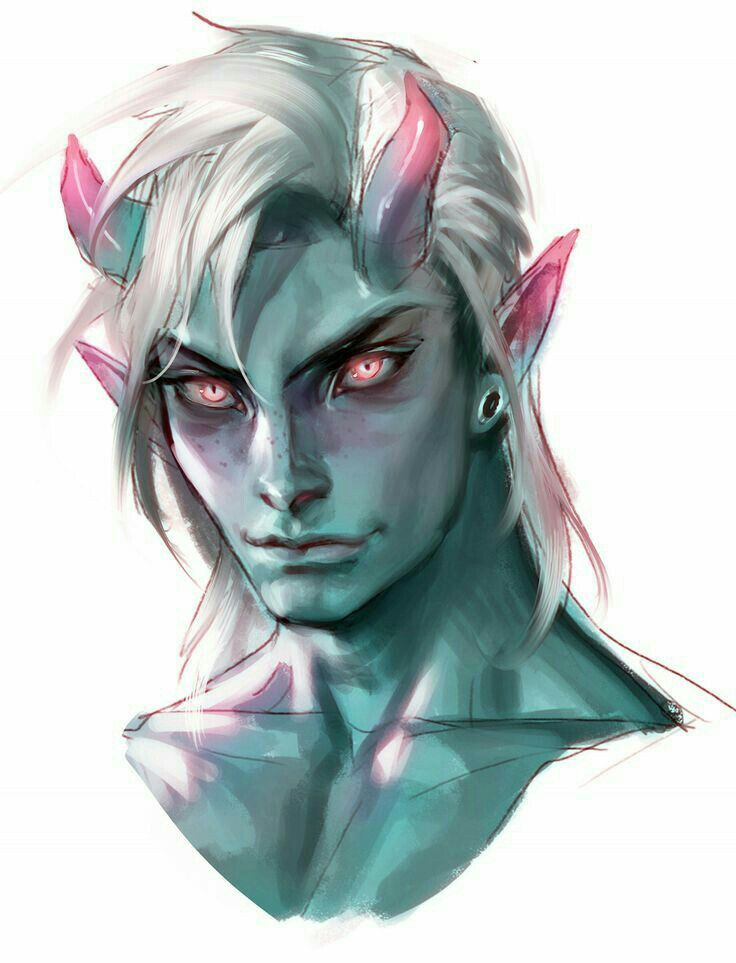209 Best Fantasy Race Tiefling Images On Pinterest Figure Drawings Character Design And