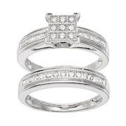Swarovski Crystal Engagement Ring