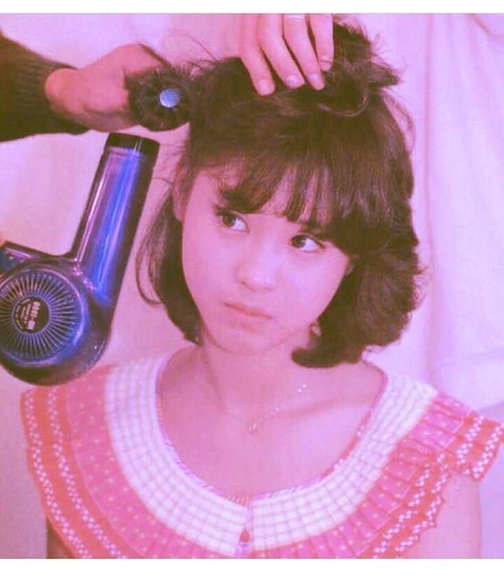 """좋아요 63개, 댓글 1개 - Instagram의 Yumi.M(@yumio6530)님: """"聖子ちゃんかわいすぎやしないかい? まるでお人形さん… 聖子ちゃんカットにしたい #聖子ちゃんカット #socute #松田聖子 #美少女 #80年代 #hairstyle #shorthair…"""""""