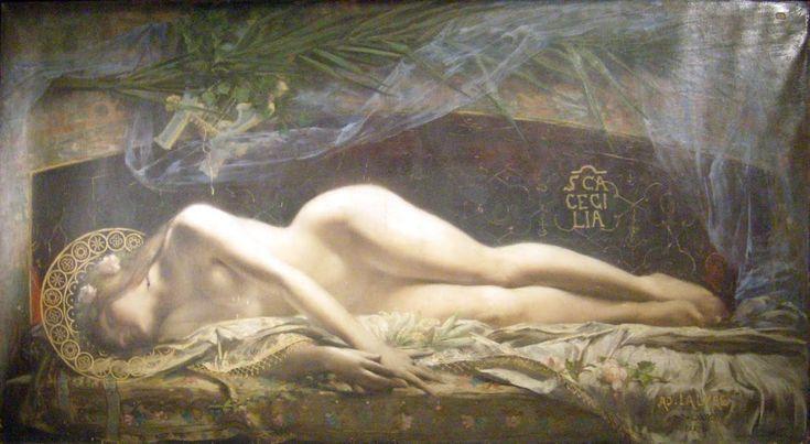 """el-guia-del-laberinto:  """" Sainte Cécile, Adolphe Lalyre  """""""