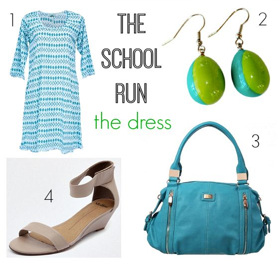What to wear on the school run - the dress