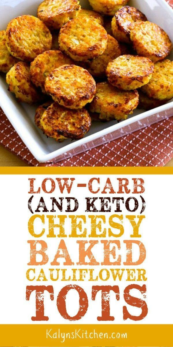 Low-Carb Cheesy Baked Blumenkohl Tots (Video) – …