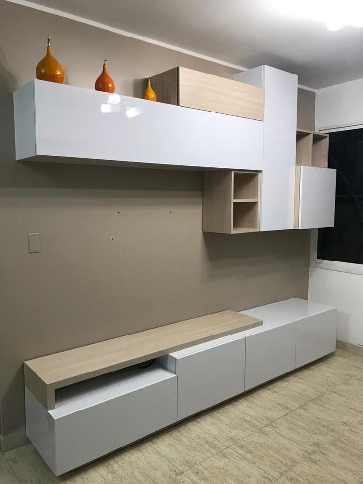Tv Unit Design Wall Mounted: Rani A10 Wall Shelf Bookcase Tv Unit Wall Mounted Cabinet