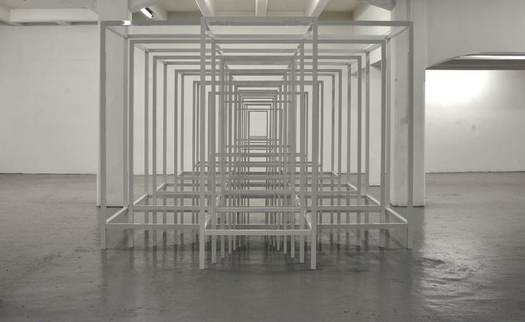 protection #2 -  view of the solo show  @The flat-Massimo Carasi, Milan