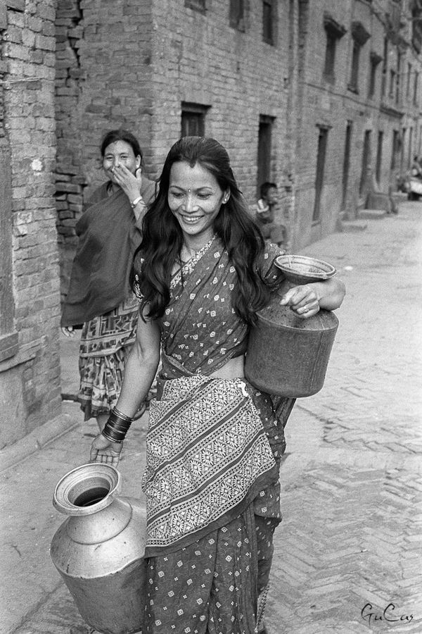 Nepali Women by Gu Cas