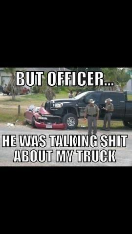 I feel the same way. Chevy this Ford that =  firm believer in its not what you drive but how you drive it - GO DODGE