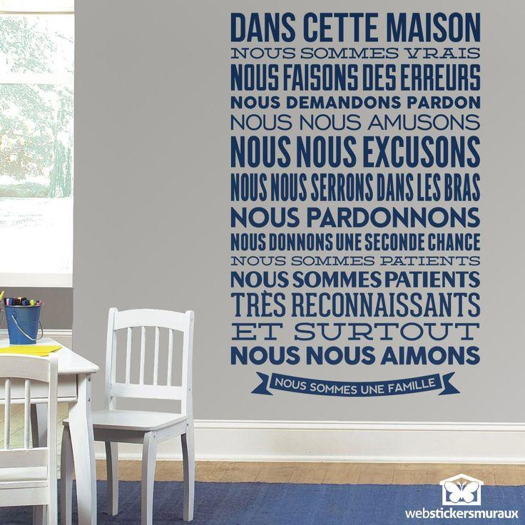Les  Meilleures Images Du Tableau Wall Decal Quotes Sur