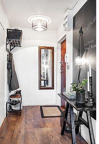 PJ01 la parete con la tinta lavagna è da copiare, ad avere un ingresso!