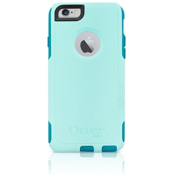 OtterBox iPhone 6 6S Commuter Series Case Aqua Teal (Refurbished) ($15) ❤ liked on Polyvore featuring accessories, tech accessories, phone cases and otterbox