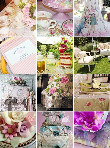 25 best shabby chic inspired party images on pinterest