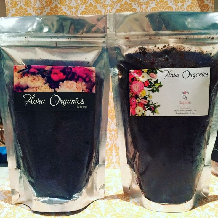 FLORA ORGANICS By Sophie - Our Coffee Scrubs - available in Original Coffee & Luxurious Cho-Coffee - Come follow our page to see all our wonderful products available for purchase!