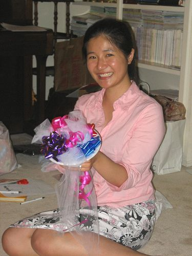 How to Make a Ribbon Bouquet for a Wedding Rehearsal via www.wikiHow.com