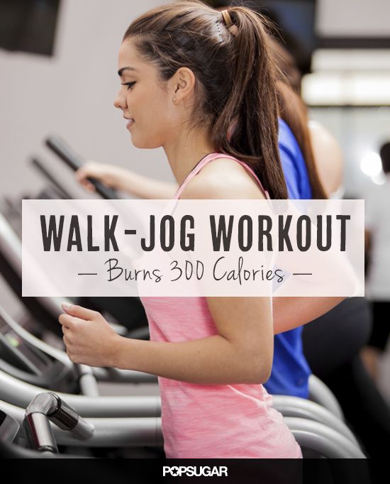 Newbie Running Workout That Burns Over 300 Calories Good for an easy day at the gym.