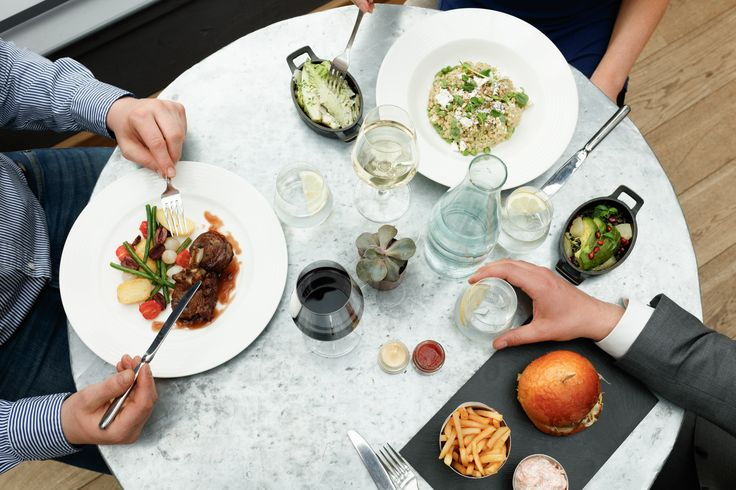 Aubaine in Broadgate is the perfect spot for a working lunch