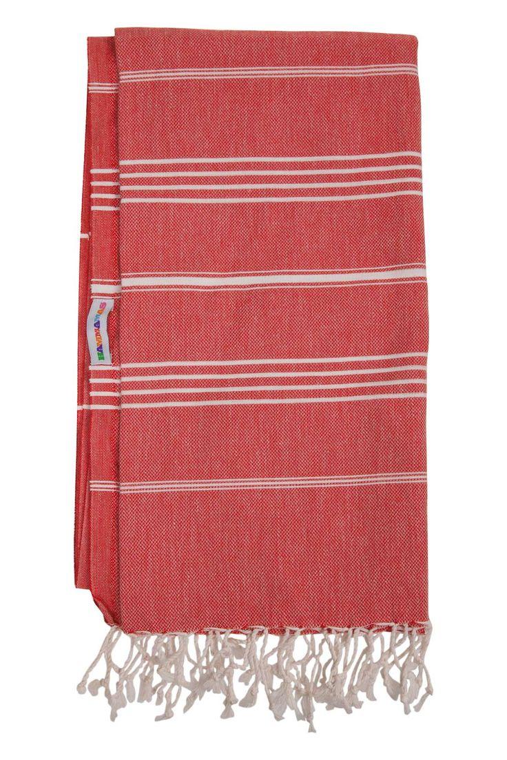 Hammamas towel - Raspberry!