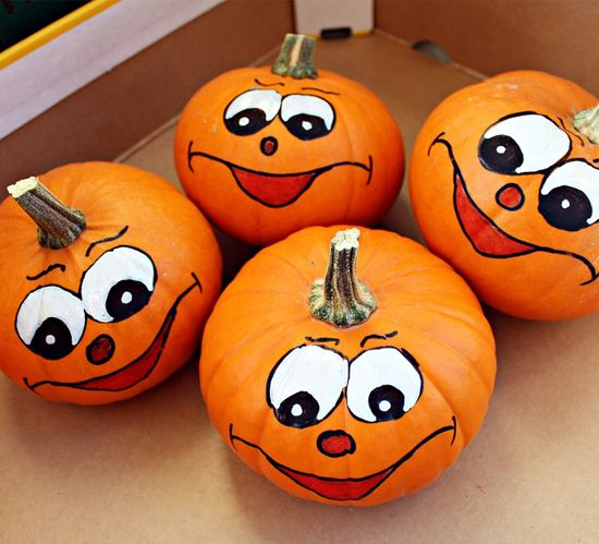"Pumpkin painting ideas for kids | ""Life on Easy Street ..."