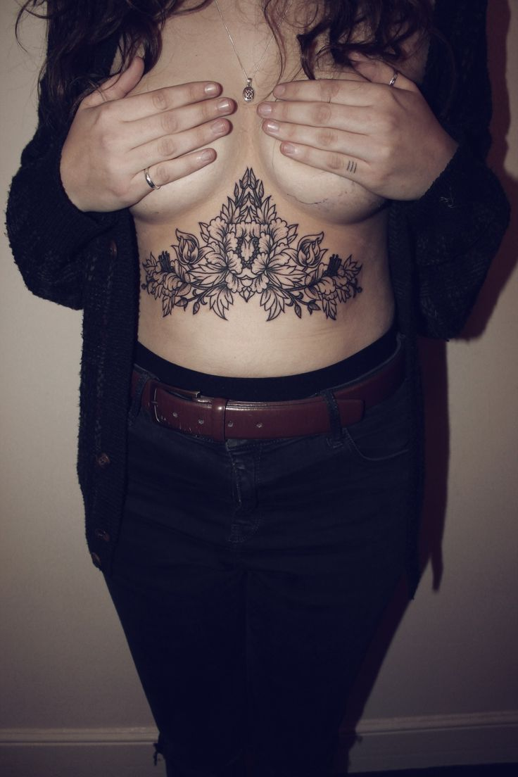 12 Best Images About Under Boob Tattoos On Pinterest