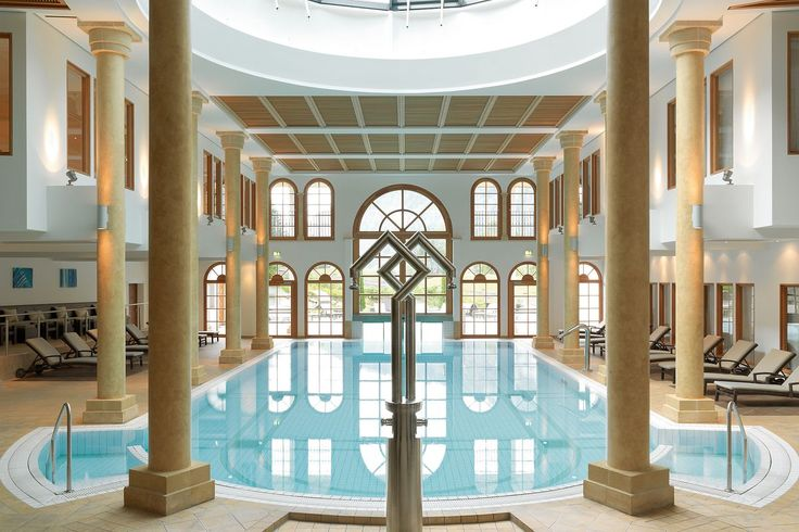 Spectacular heated indoor pool in Kitzbuhel