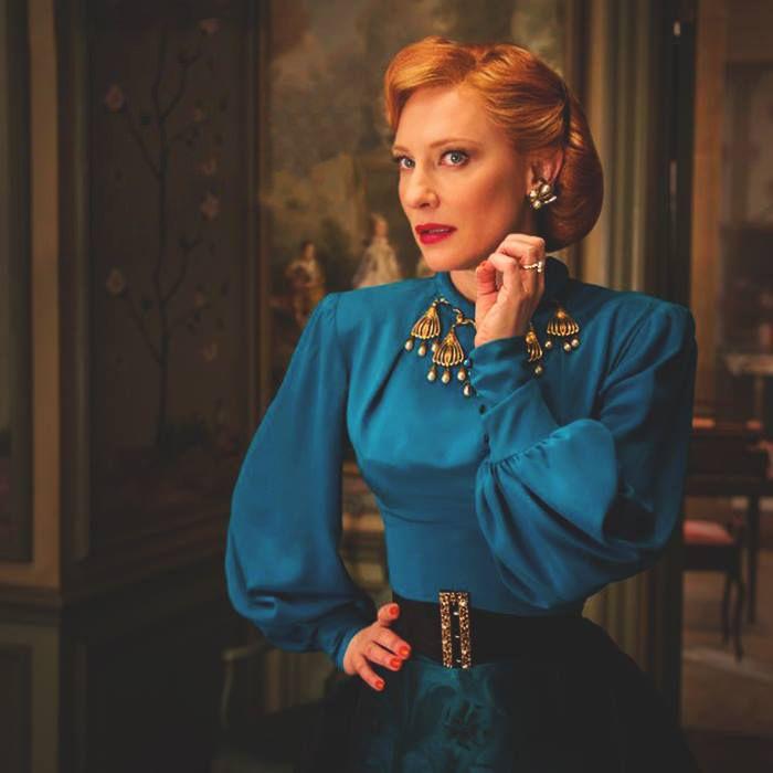 Cate Blanchett in Disney's Cinderella wearing Bespoke Stephen Einhorn Ring