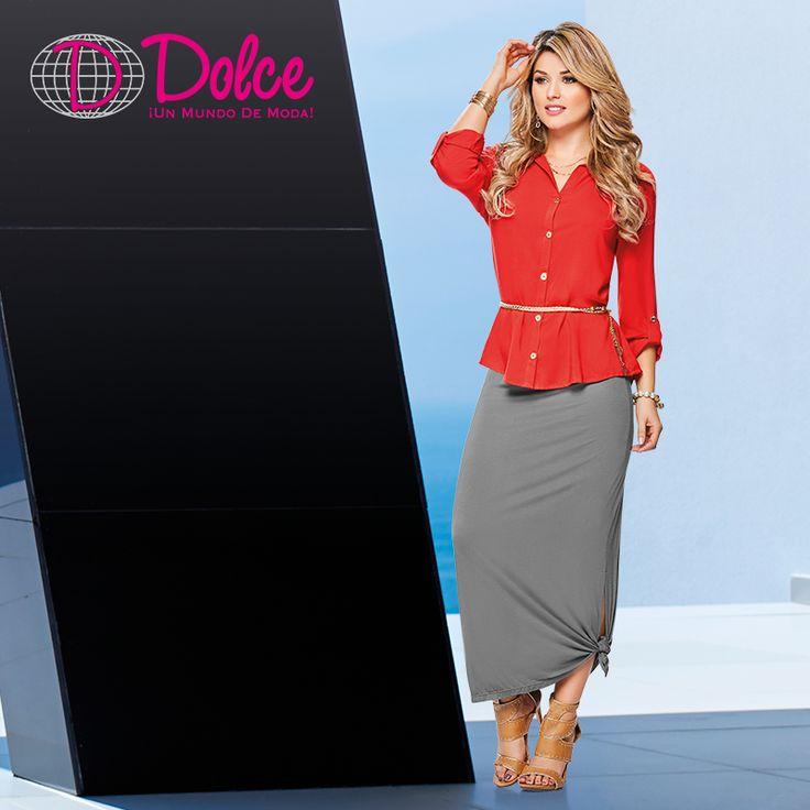 Vive la moda junto a nosotros. Conoce nuestras propuestas femeninas en: www.dolcecatalogo.com   La moda es un mundo y se llama Dolce.