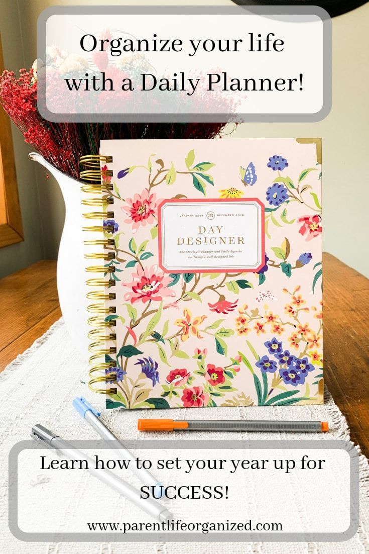 picture regarding Daydesigner named Understand how in the direction of Arrange your everyday living with a everyday planner, and