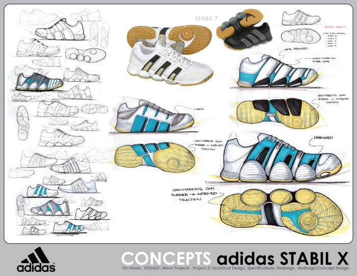 Adidas Stabil X Shoe Concept by Tim Haats at Coroflot.com