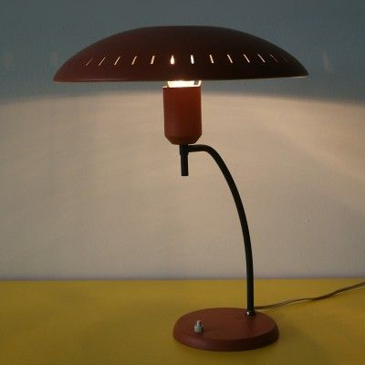Located using retrostart.com > Desk Lamp by Louis Kalff for Philips