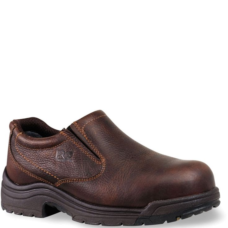 053534230 Timberland PRO Men's TiTAN Safety Shoes - Brown