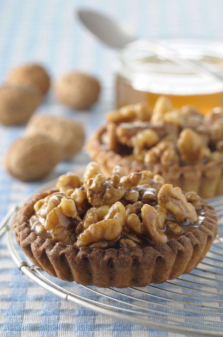 Recette de Tartelettes aux noix et au miel - Ma vie en couleurs