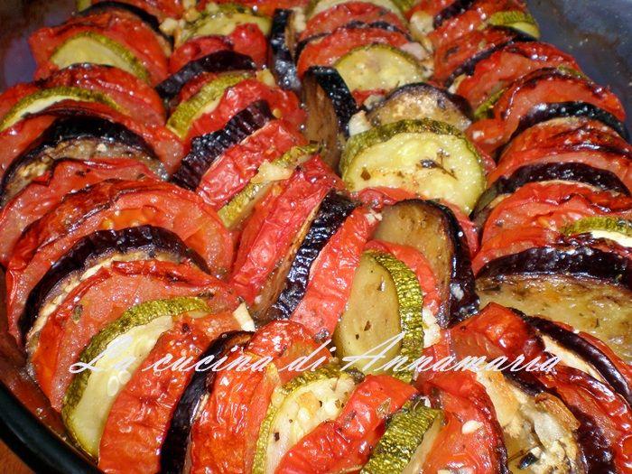 Teglia di verdure miste al forno, ricetta contorno