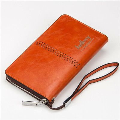 GYD Baellerry Business Men's wallet Europe and the United States men's bag multi-functional retro wallet men long section A0024