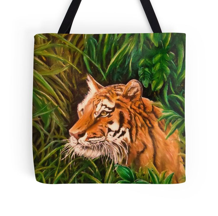 Tiger mania, Tiger obsession, Tiger addiction,  Tote Bag