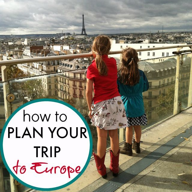 Are you wondering how to plan your trip to Europe? Where do you start? Here are some travel tips to begin the process of planning a European vacation.