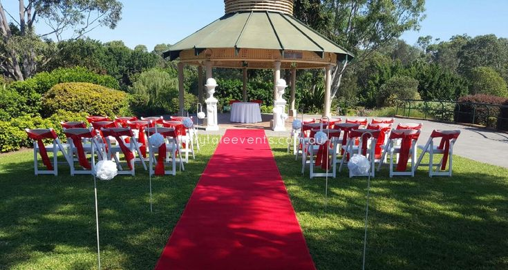 Outdoor Ceremony Bungarribee Pavillion by Fairytale Events