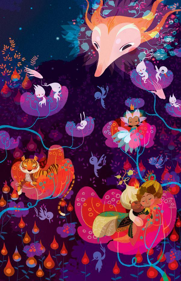 Sleep - a riddle - by Lorena Alvarez Gómez, via Behance