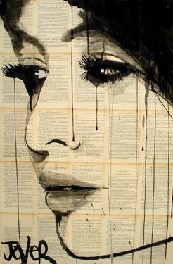 "Saatchi Online Artist Loui Jover; Drawing, ""whisper"" #art"