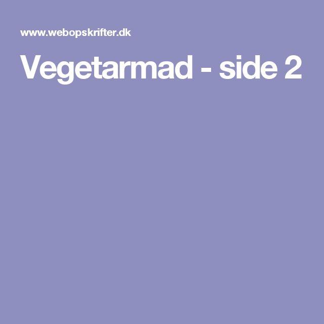 Vegetarmad - side 2